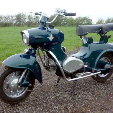 H&H subasta un scooter Rumi Formichino de 1959 con un precio de salida de 5000 euros