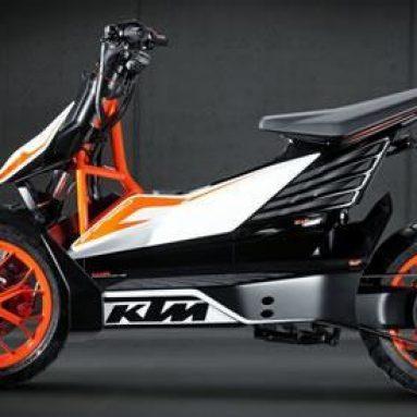KTM E-Speed, el scooter eléctrico de KTM se deja ver en Tokio