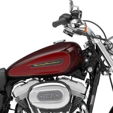 El sistema HFS disponible para la Harley-Davidson Sportster 883