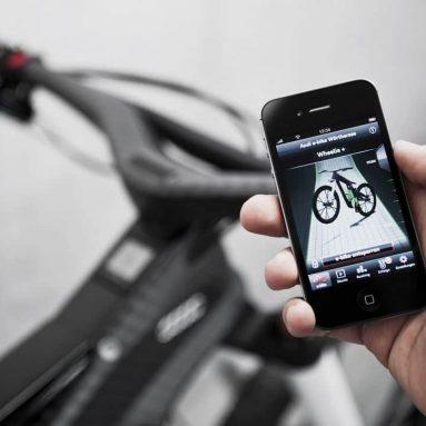 Wi-fi, chasis de fibra de carbono, así es la Audi e-bike Wörthersee