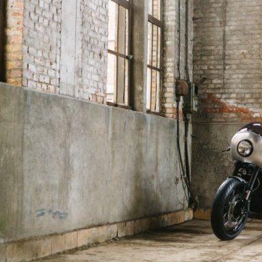 BMW R nineT custom del taller belga MotoKouture