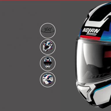Las nuevas gráficas ARKAD para el casco N87 de Nolan