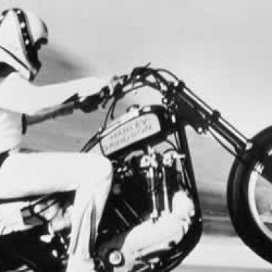 Harley-Davidson dedica una exposición al acróbata Evel Knievel