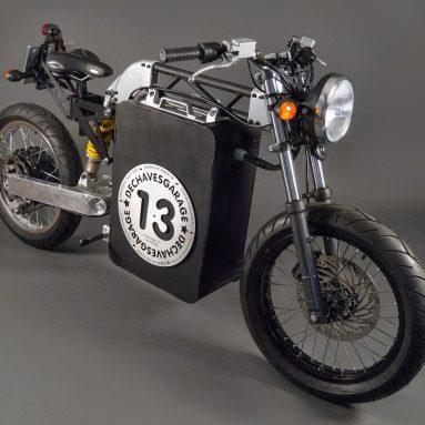 El proyecto de moto eléctrica De Chaves DCH a la venta