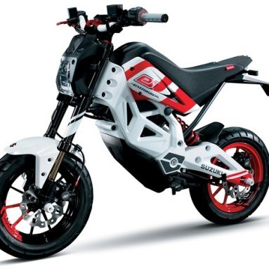 Suzuki patenta un nuevo modelo de motocicleta eléctrica