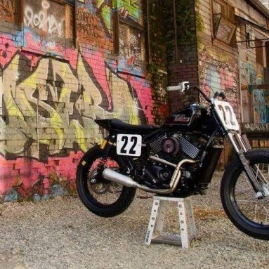 Harley-Davidson Street 750 Dirt Track para el HD StreetBattle de Canadá