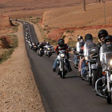 Mega ruta Harley-Davidson por el respeto al motorista