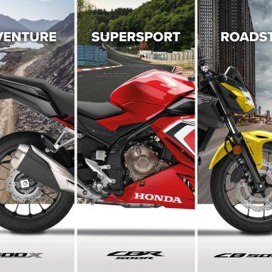 Gama Honda CB500 2021