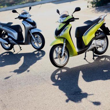 Historia de la Honda SH Scoopy