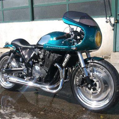 Suzuki GSX 750 «Hurricane» de Ironbike Garage