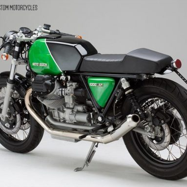 Moto Guzzi 1000 SP Machine 9 del estudio alemán KaffeeMaschine