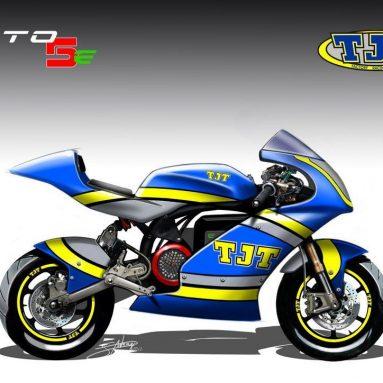 Moto 5e, la moto eléctrica de competición de TJT