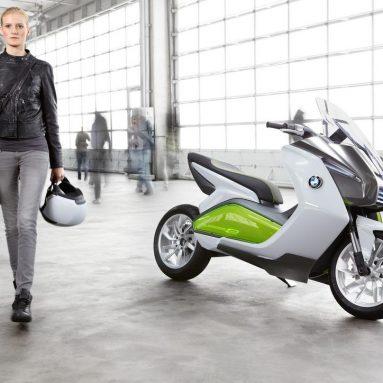 BMW Motorrad Concept e, el scooter eléctrico de BMW
