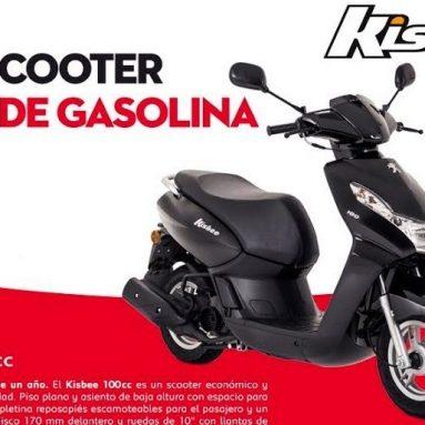 Un año de gasolina gratis para el Peugeot Kisbee 100 para las primeras 100 unidades