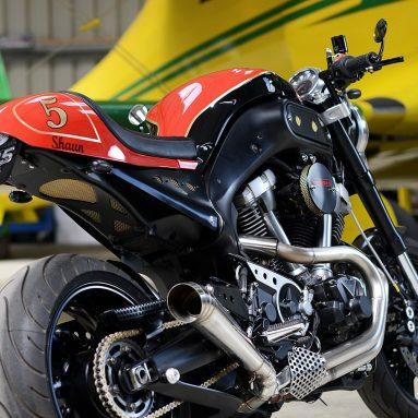 Redmax Speed Shop Yamaha MT-01 custom