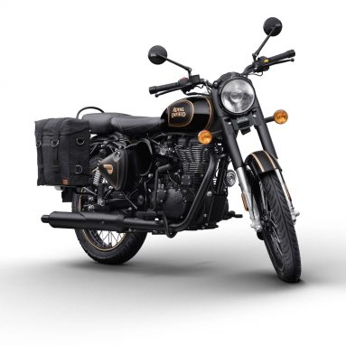 Royal Enfield Classic 500 «Tribute Black»  2020