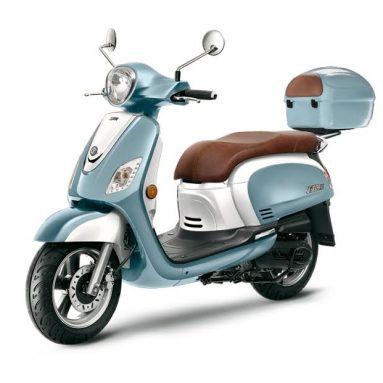 Ya está aquí el scooter SYM Fiddle III, una versión muy mejorada