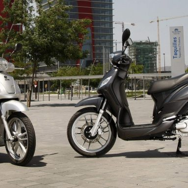 SYM Symphony S 125, una scooter de altura
