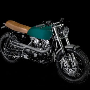 Harley-Davidson Sportster scrambler H1 de VDB Motorcycles