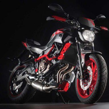 Yamaha MT07 MotoCage, el lado más oscuro de Japón