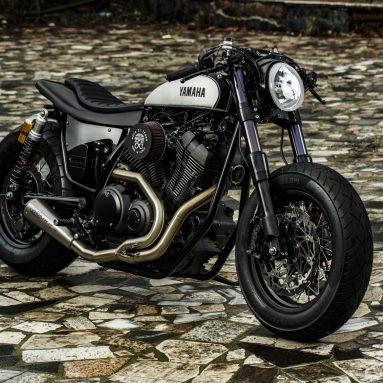 Yamaha Yard Built XV950  2016 «Speed Iron» de Moto di Ferro