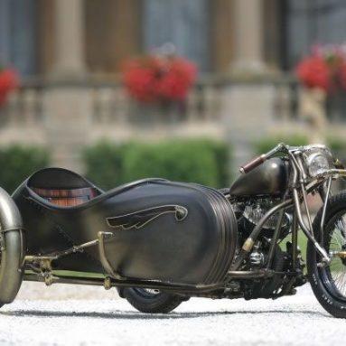 Abnormal Cycles Union, un sidecar con marcado estilo vintage