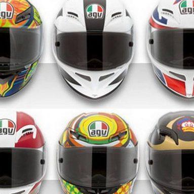 Los cascos AGV de venta en la tienda on-line de Dainese