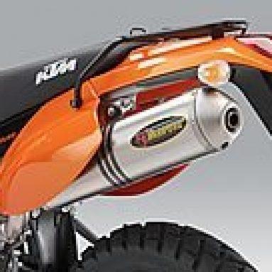 El Akrapovic Slipon parte de los accesorios de KTM