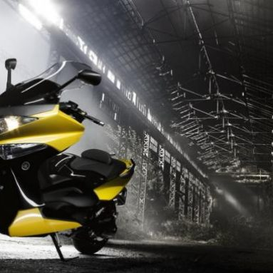Así es el Yamaha TMAX 2009