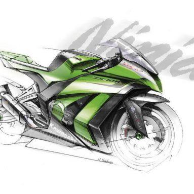 Así será la nueva Ninja ZX-10R 2011