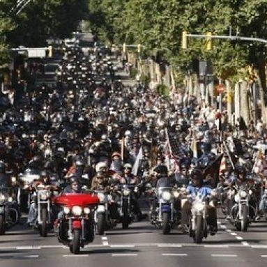 Barcelona vive un fin de semana 100% Harley-Davidson