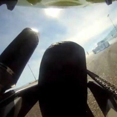 Batalla de drifting. Una Kawa ZX-10R '05 vs Mazda RX-7