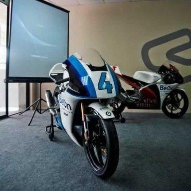 BeOn Automotive presenta sus Moto3 y Moto4