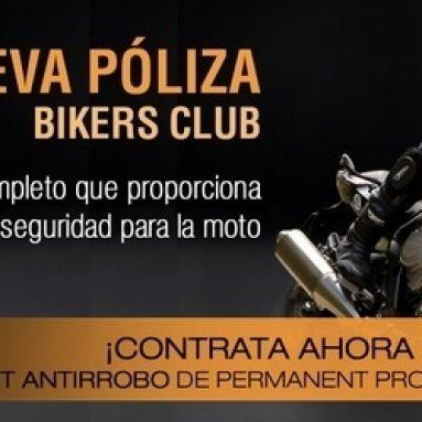 Bikers Club presenta su nueva póliza para motos