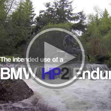 BMW HP2 Enduro en acción