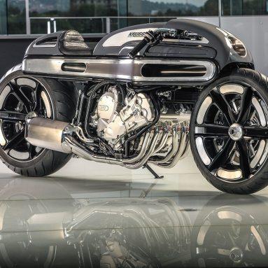 La Nurb´s de Krugger es una BMW K1600GT llevada a un futuro apocalíptico