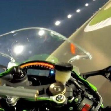 A bordo de la nueva Kawasaki ZX-10R 2011