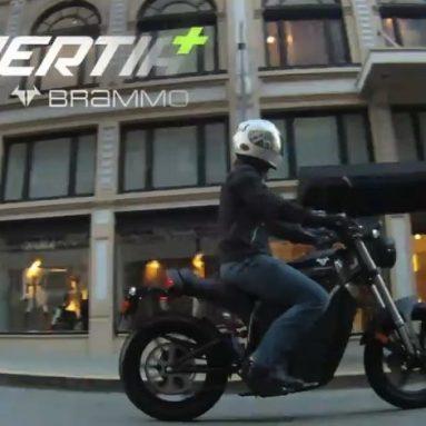Brammo Enertia Plus · 126 kms. de autonomía