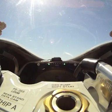 Chip Yates alcanza los 306 km/h con su moto eléctrica