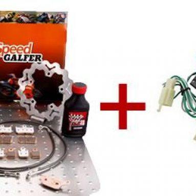 Compra un kit de frenos Galfer y llévate una alarma para tu moto ¡de regalo!