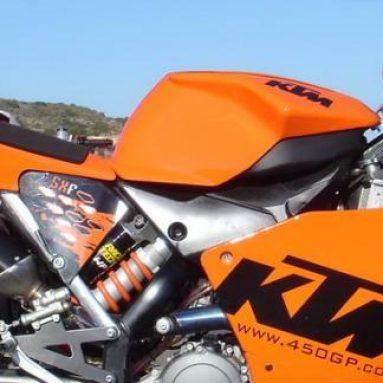 Convierte tu KTM 450 SX-F en una moto de ¡velocidad!