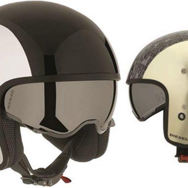 Diesel y AGV presentan HI-JACK, el casco inspirado en los cascos de pilotos de helicópteros