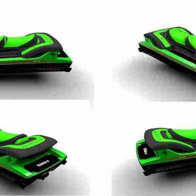 DiMora Electric Stealth Jet Ski. La moto de agua eléctrica