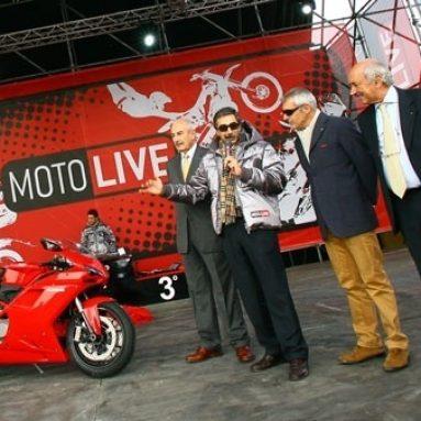 La Ducati 1098 elegida como la «Moto más bonita» del EICMA Show