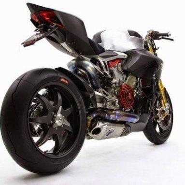 Nuda Veloce: Ducati 1199 Panigale desnuda por Moto Corse Japón