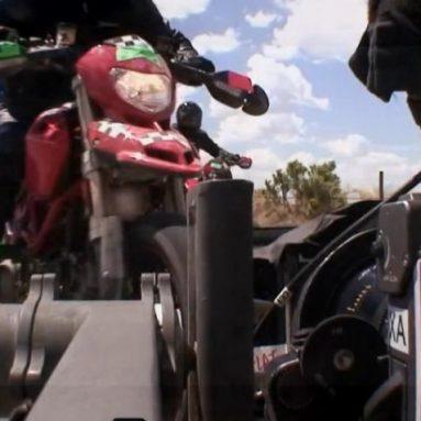 La Ducati Hypermotard 1100 2009 protagonistas en Terminator Salvation