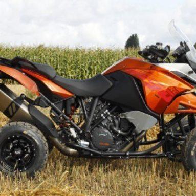 E.-ATV 1190 Adeventure, de trail a quad