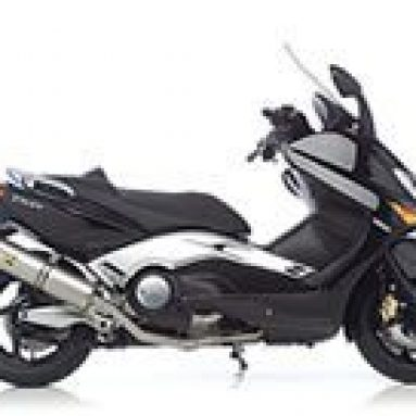 Equipa tu Yamaha T-Max con un escape Leovince SBK