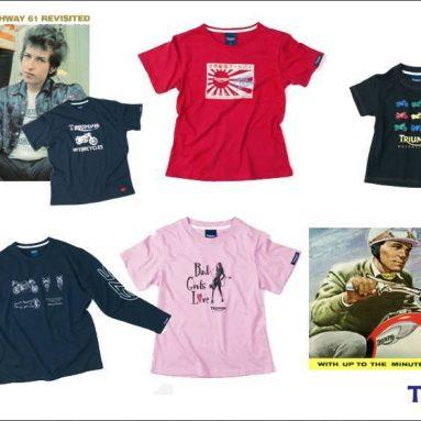 Este verano vístete con la nueva línea de camisetas Triumph