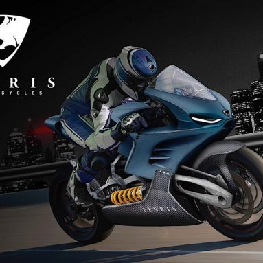 Fenris Motorcycles prometen 200 CV eléctricos y 300 km/h